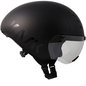 Kask Bambino Pro Kask rowerowy dodatkowo wizjer czarny